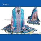 New Design Peacock Pashmina Scarves Wholesale