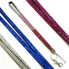 fashion rhinestone neck lanyard