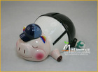 The Sleepy Student Ceramic Piggy Bank
