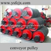 belt conveyor pulley lagging