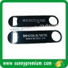 Black Lacquer Stainless Steel Bar Bottle Opener