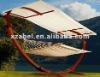 wooden outdoor hammock