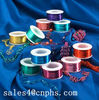 christmas decoration colored aluminium wire