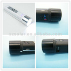 Universal portable USB external power bank for samsung galaxy s3i9300 with flashlight with SOS signal
