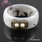 Newest Alloy Resin Bracelet Of Hot Selling For 2012 - PYBR4343