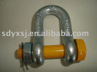 Rigging--bolt type chain shackle YXR104