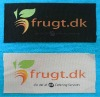 printed clothing folding brand label