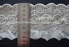 100% cotton embroidery lace design