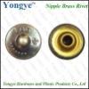 Brass rivet