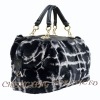 CX-H-42B Rex Rabbit Fur Women Sheepskin Bags Handbags Fashion New Arrival