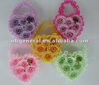 6PCS ROSE SOAP FLOWER