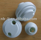 plastic cover and base for cfl lamp,plastic housing for cfl lamp