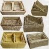 2012 Hotest selling Natural Color Storage Straw Basket