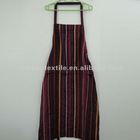 Canvas Stripe Aprons for Men with Pocket