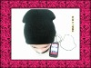 Winter Knit Hat With Headphone