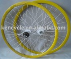 700C alloy double wall 32H rim KT HUB wheelsets for track bike