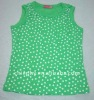 children's plain sleeveless t-shirt 2012