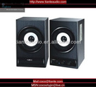 2.0ch wooden case Multimedia speaker with USB,MP3 Player,SD