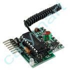 Amplitude modulation OOK 4 Channels High Level Output Super Regeneration RF Wireless Receiver Module With Learning Code Decoder