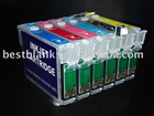 Refillable ink cartridge for Epson PX700W/PX800FW,Good Quality