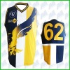 Long sleeved/sleeveless sublimation AFL guernsey