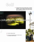15m lighting telescopic mast and mobile antenna mast tower