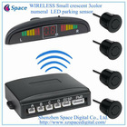 WIRELESS Small crescent 3color numeral LED parking sensor