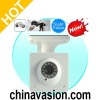 Nightvision IP Security Camera with MicroSD Card Recording and IR-Cut Filter (H.264 Video Compression)