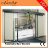 ES200G Automatic tempered glass office siding door