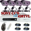 36LED Waterproof Camera 500GB H.264 DVR CCTV Home Security System