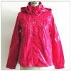 Backing fabric polyester rain coats for children