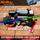 10000LBS 4x4 OFFROAD ELECTRIC WINCH