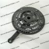 multi-speed chainwheel and crank for MTB bicycle