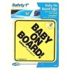 Plastic hard PVC Car Sign with Suction Cup