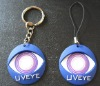 UV tester with keychain
