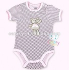 Hot sell 100% cotton embroideried designer infant baby wear