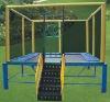 2012 outdoor square trampoline WSG038