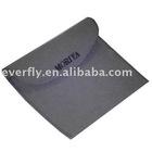 grey velvet bag