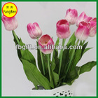 Hotel and Home Decoration Artificial Silk Single Stem Artificial Tulip Arrangement (FB013938)