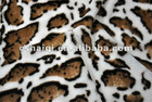 cheetah velvet fabric fake fur