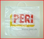 2012 hot sale pvc coated cotton bag