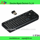 Wireless Mini 2.4G Keyboard Track ball Mouse Presenter,factory direct sale