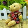 Wholesale Mini Plush Doll Key Pendant Teddy Bear Plush Doll 1 lot 5 set