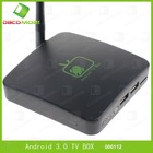 2012 smart tv box for android 3.0 tv box