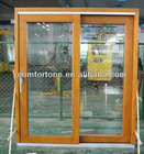 Europe style wood tilt and sliding door