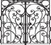 Wrought Steel Gate