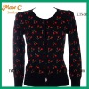 2012 Whole sale wool autumn cashmere cardigan KTS08#