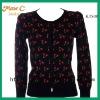 2012 Whole sale wool autumn cashmere cardigan KTS08#