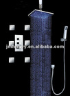 concealed led rainfall shower set bath shower set led shower set