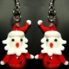 earring murano glass earring glass ear drop korean earrings 2012new earrings for Christmas ladies earrings designs wholesale